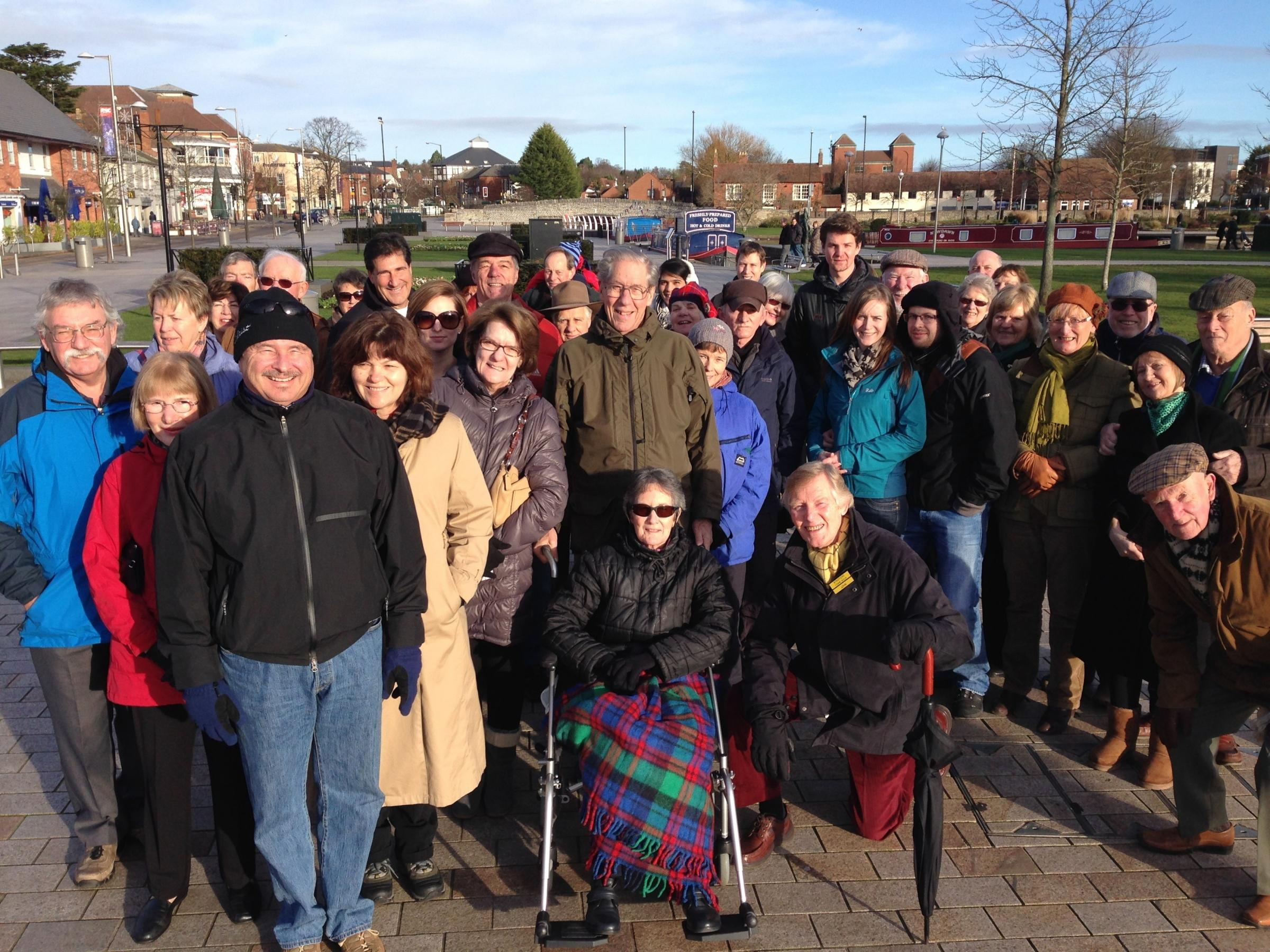 Christmas Day Festive Guided Walk in Stratford
