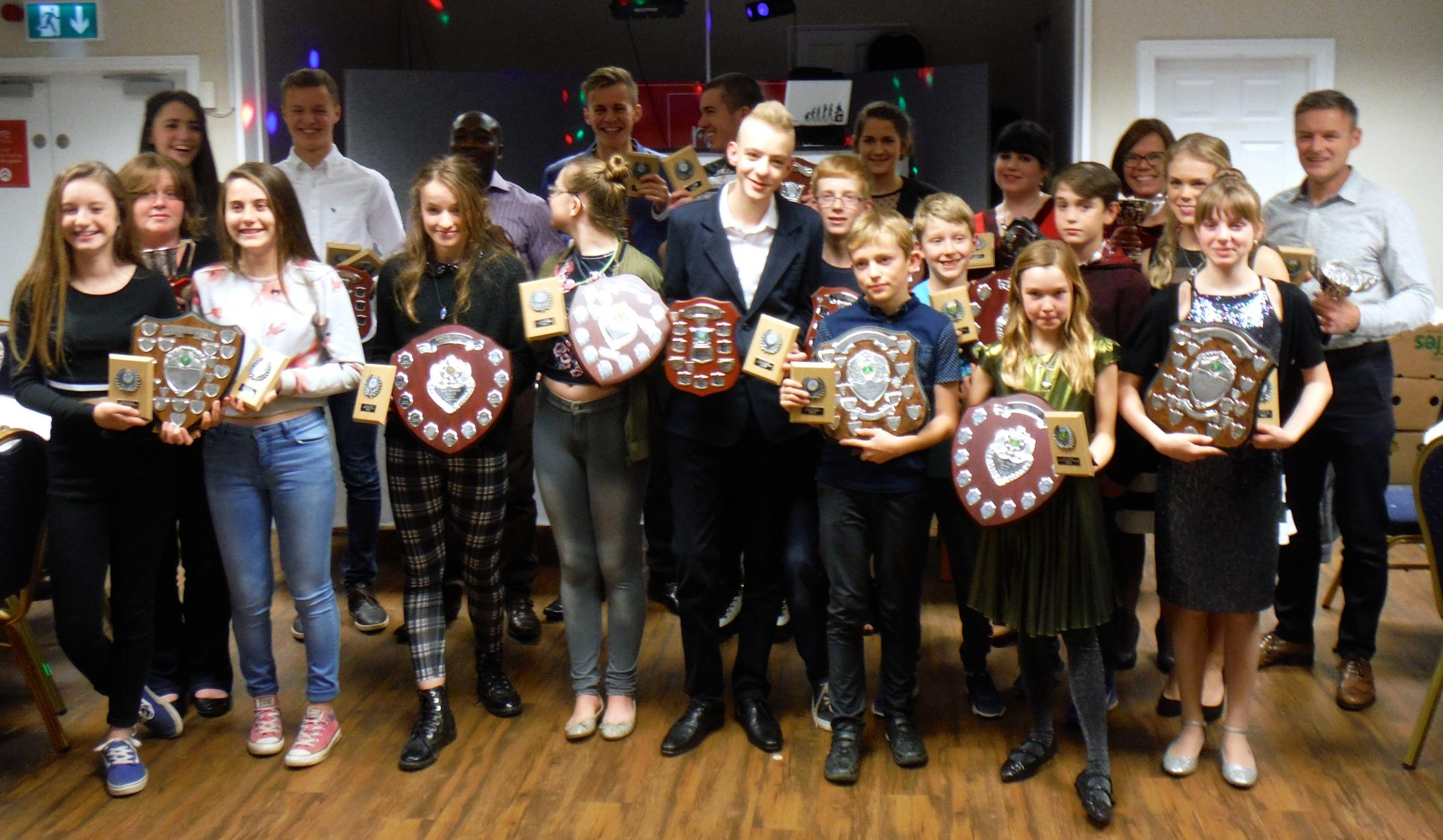 The Hereford and County Athletics Club winners