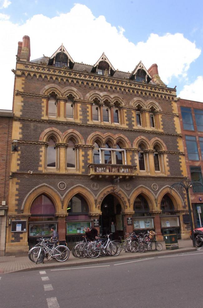 Hereford library is one of many cultural venues with an uncertain future