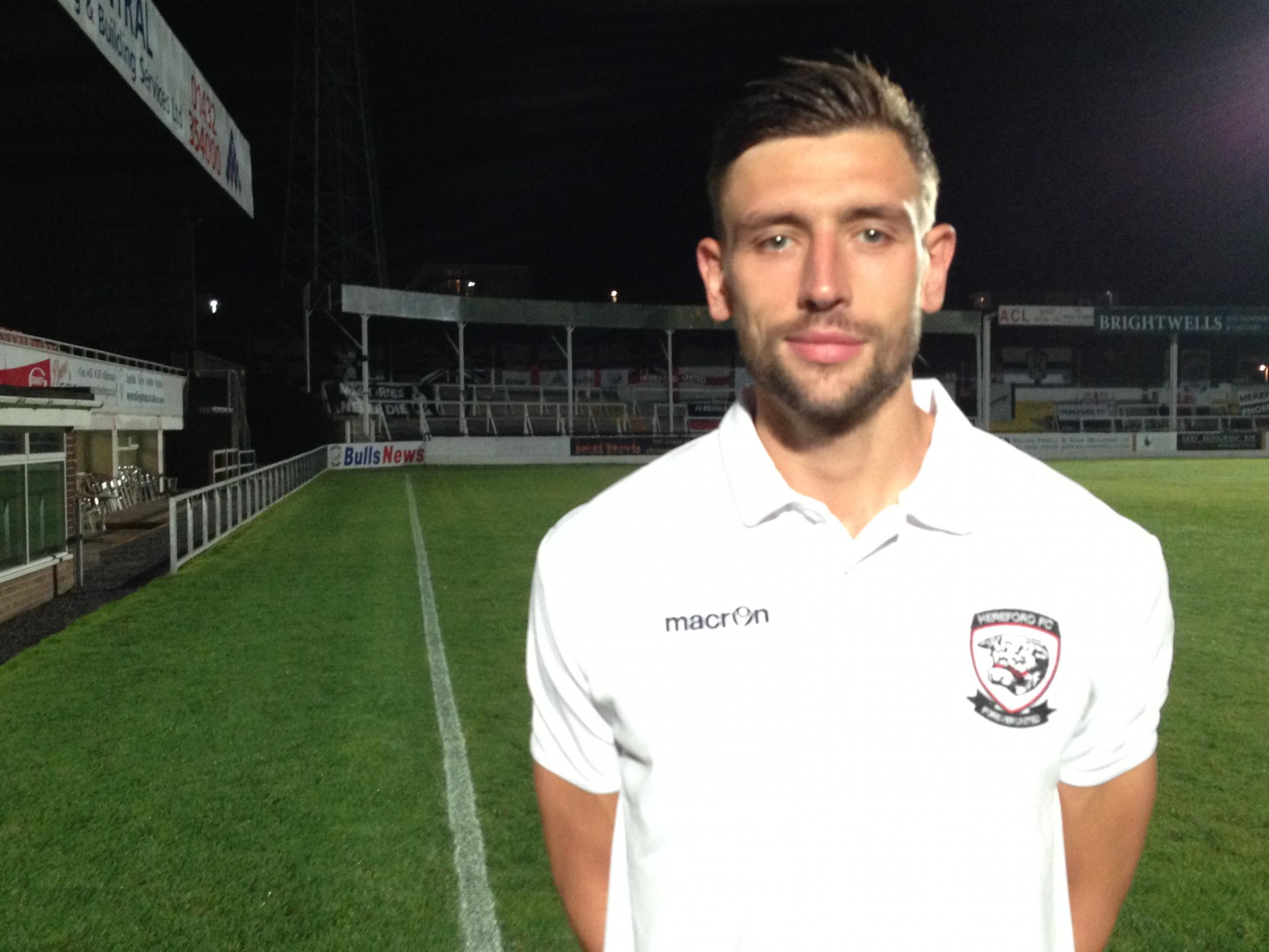 Mike McGrath scores winner for Hereford FC at Mangotsfield United    Hereford Times