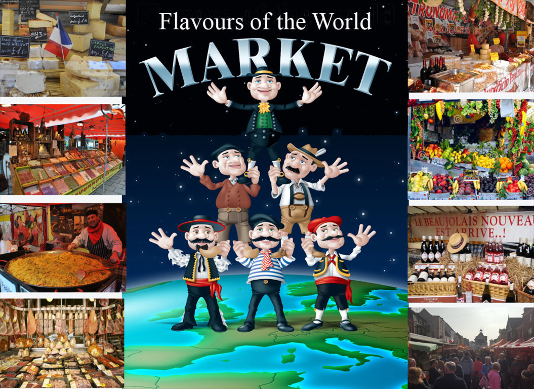 Shrewsbury Flavours of the World Market