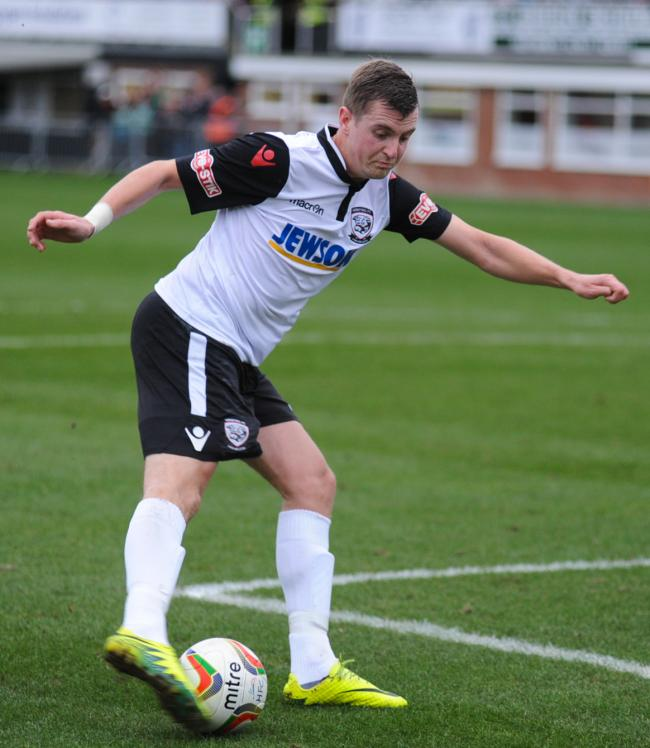 John Mills scored another hat-trick for Hereford