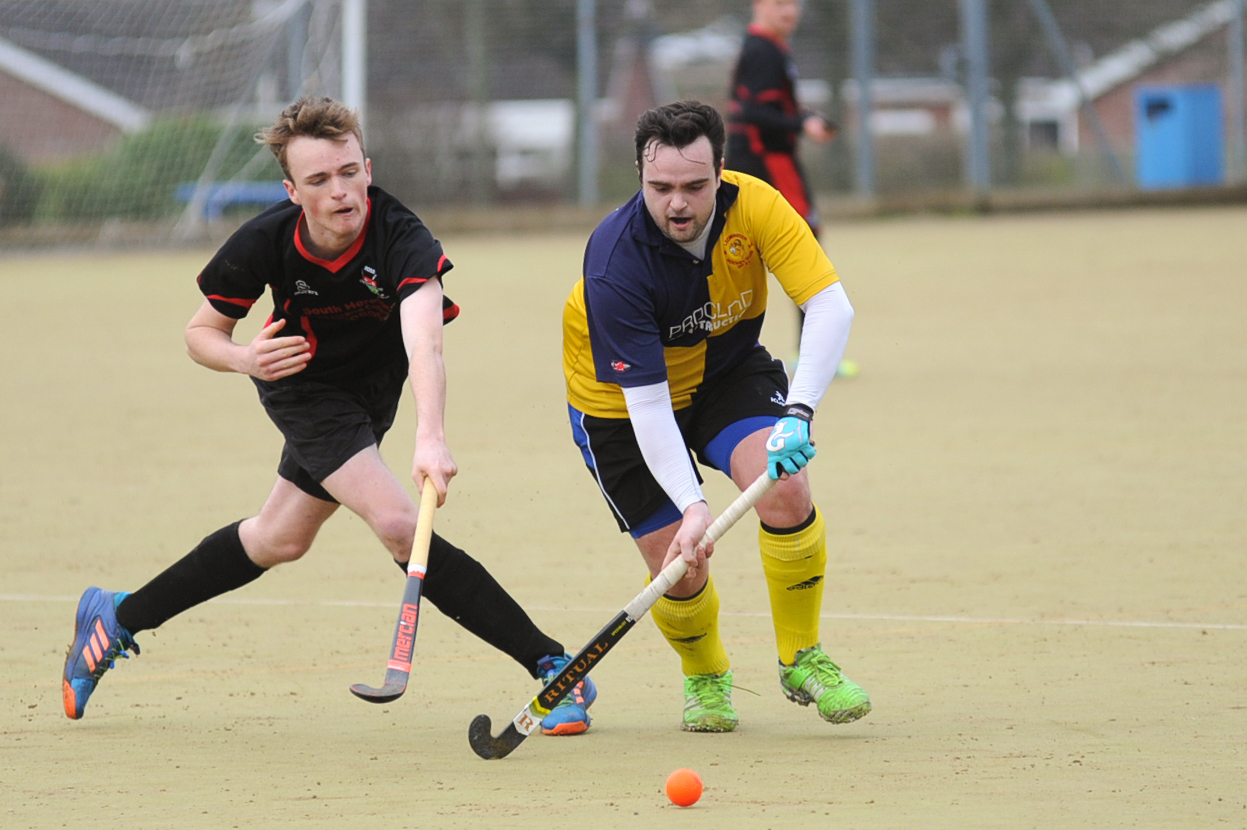 Jonny Cross (left) opened the scoring for Ross against Leominster