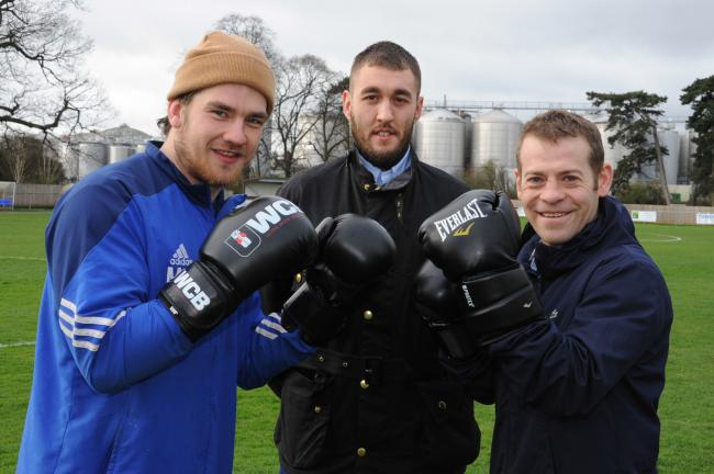 Matt Gwynne, Ash Jones and Lee Ferneyhough are taking part in a charity boxing show. Kiegan Valley will also be taking part