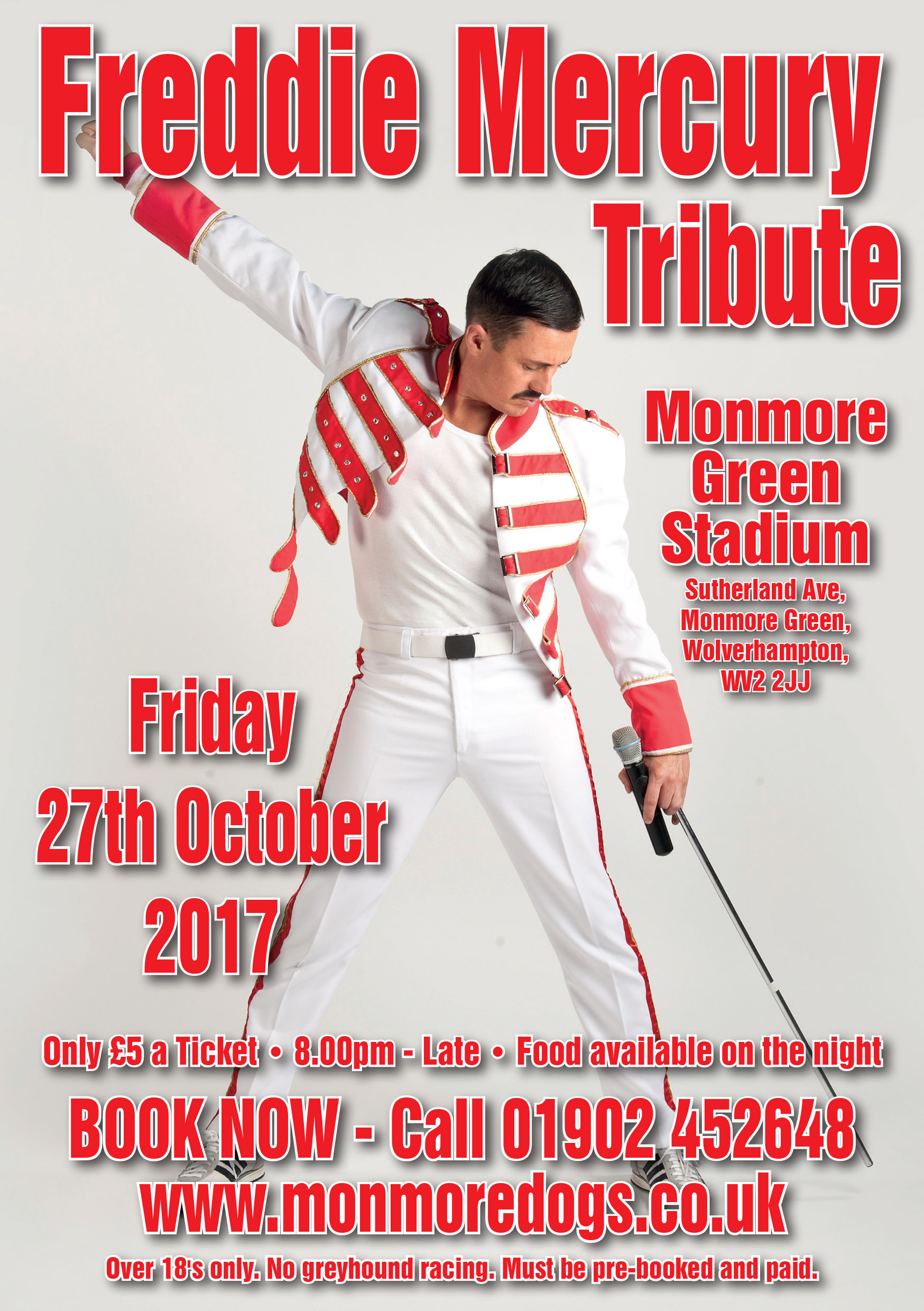 FREDDIE MERCURY TRIBUTE  (Dean Richardson )