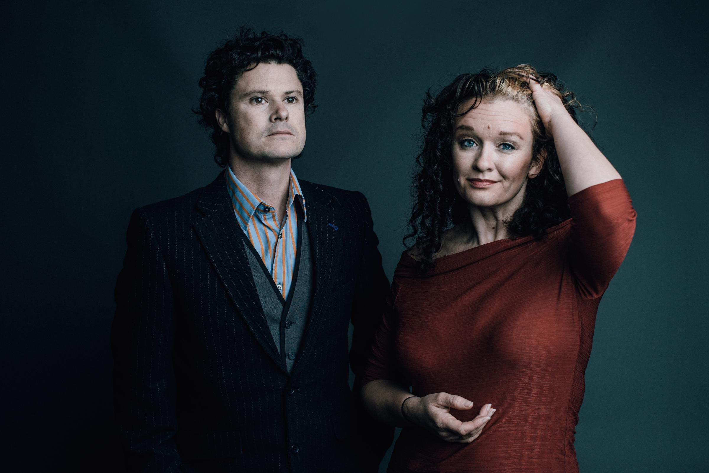 Kathryn Roberts and Sean Lakeman. Picture by Matt Austin.