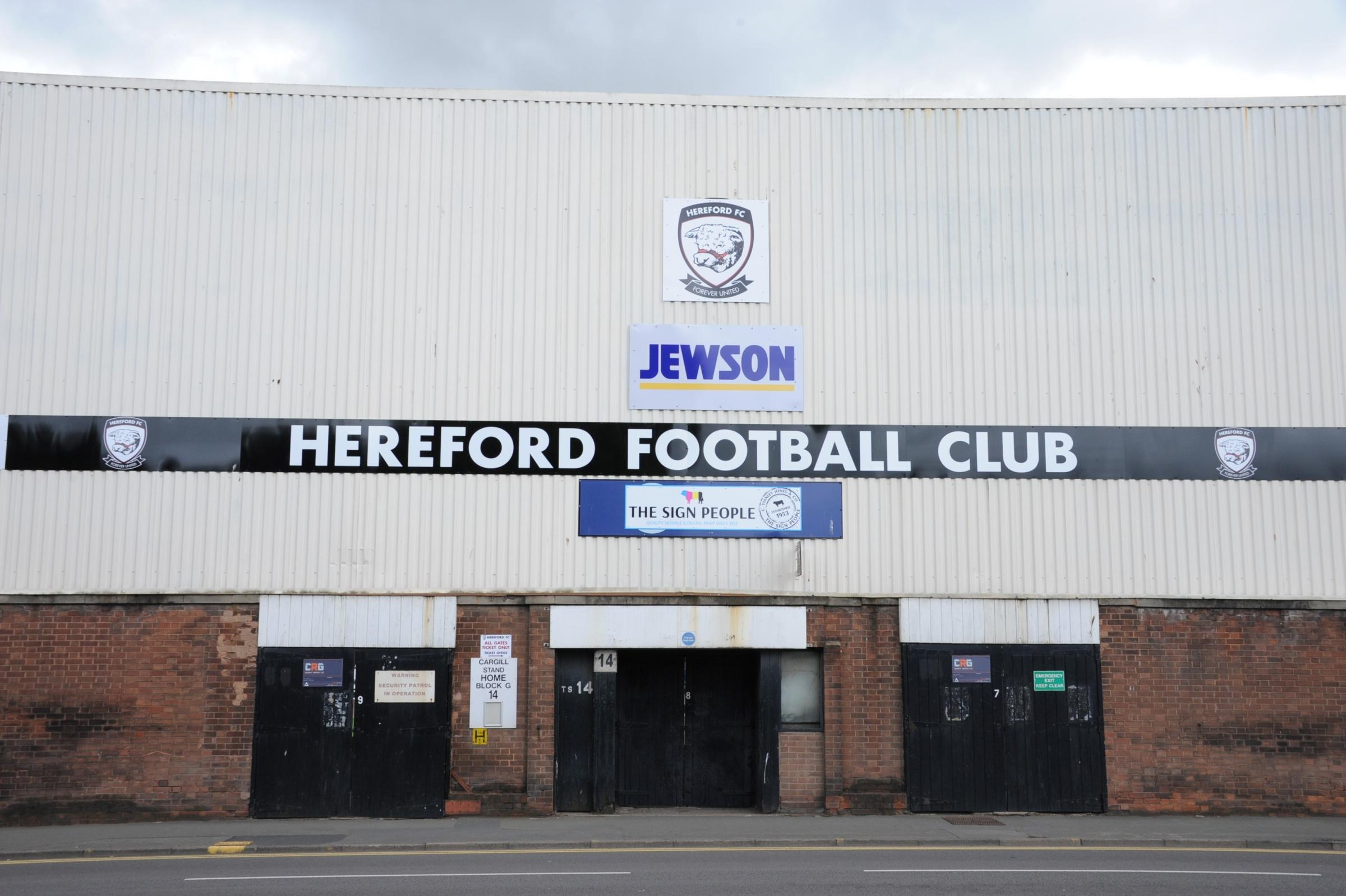 Hereford have confirmed the dates for their matches against St Neots and Ewyas Harold