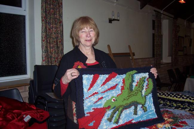 Rag Rug Making Explored At Old Radnor Wi Hereford Times