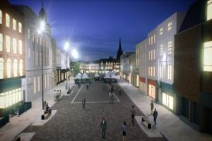 The council's vision of how Hereford should look by 2020