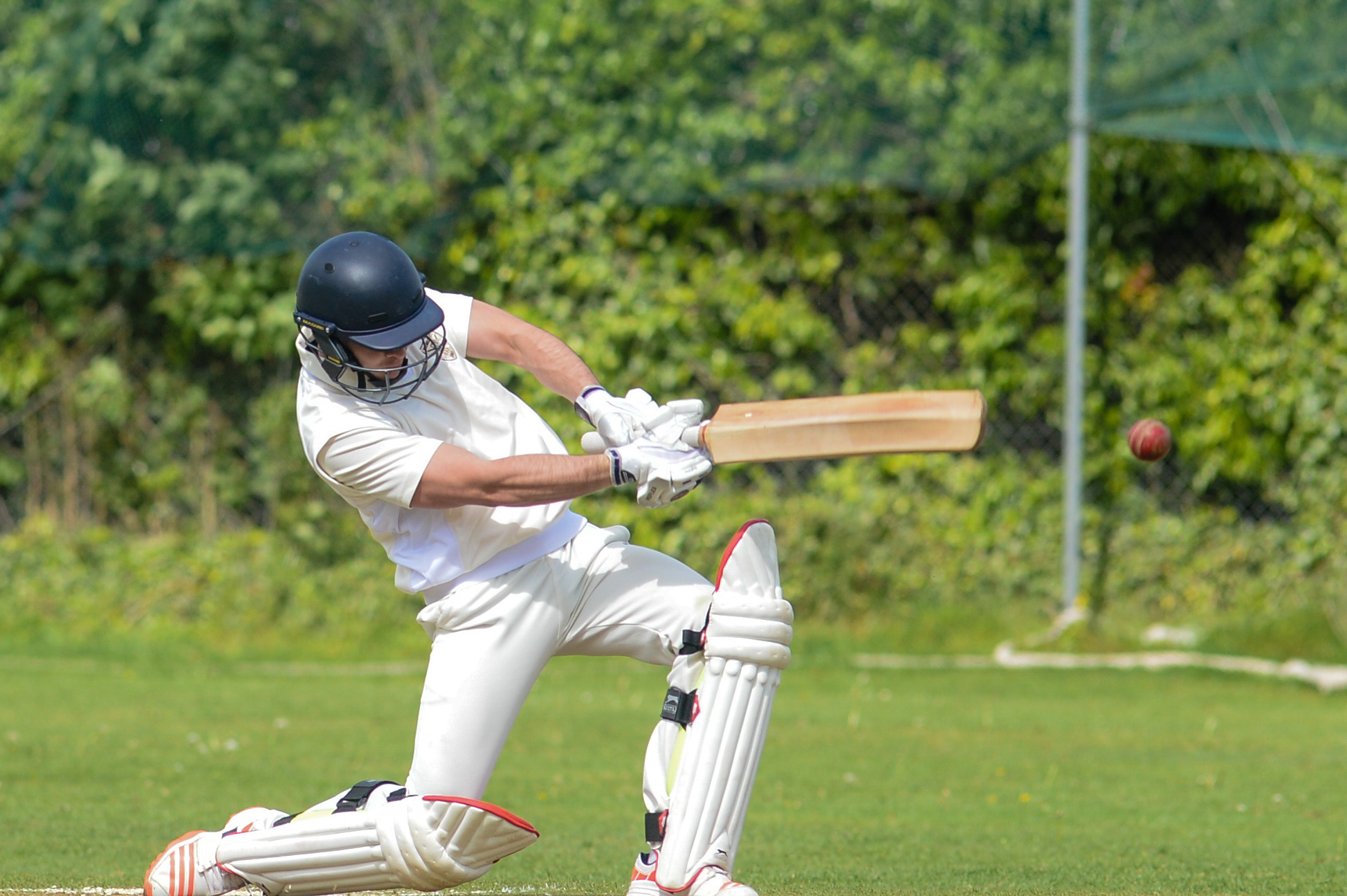 Josh Worsley scored a half century for Wormelow in their much needed win against Coombs Wood