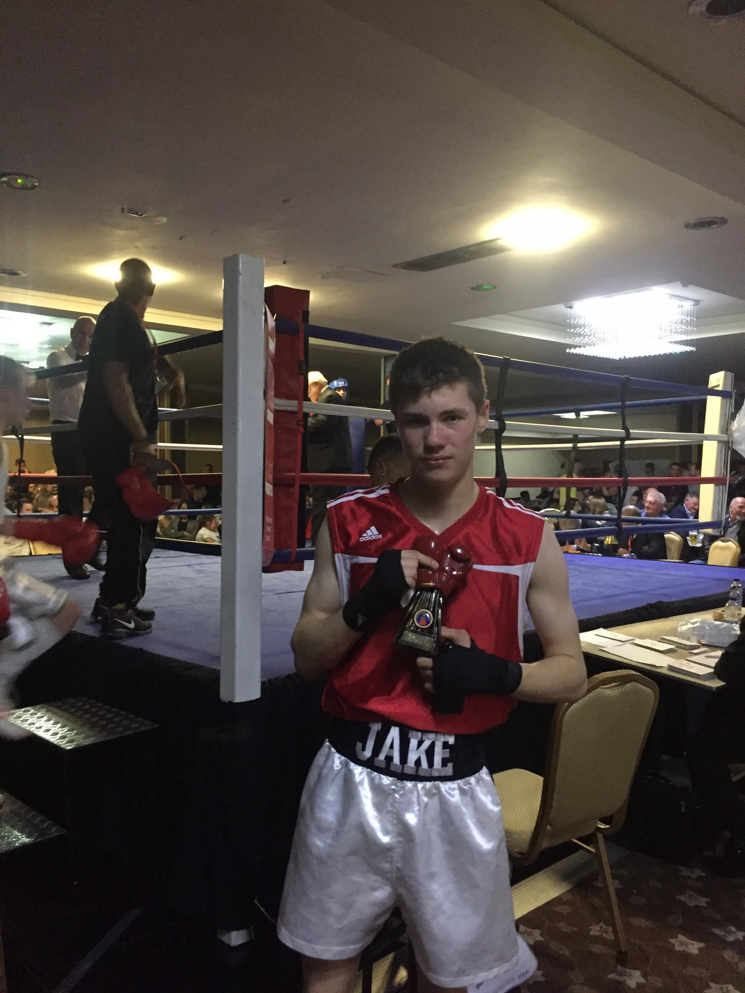 Jake Price, from Hereford Boxing Academy