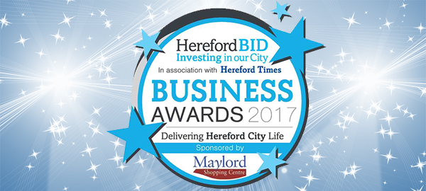 Winners of the Hereford BID Business Awards 2017