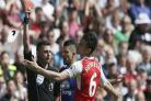 Koscielny to miss FA Cup final following unsuccessful red-card appeal