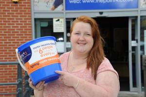 RNC student Laura Hill is having her head shaved for charity in September, raising money for the Motor Neurone Disease Association. Her mum has been diagnosed with the disease.1720_4001.