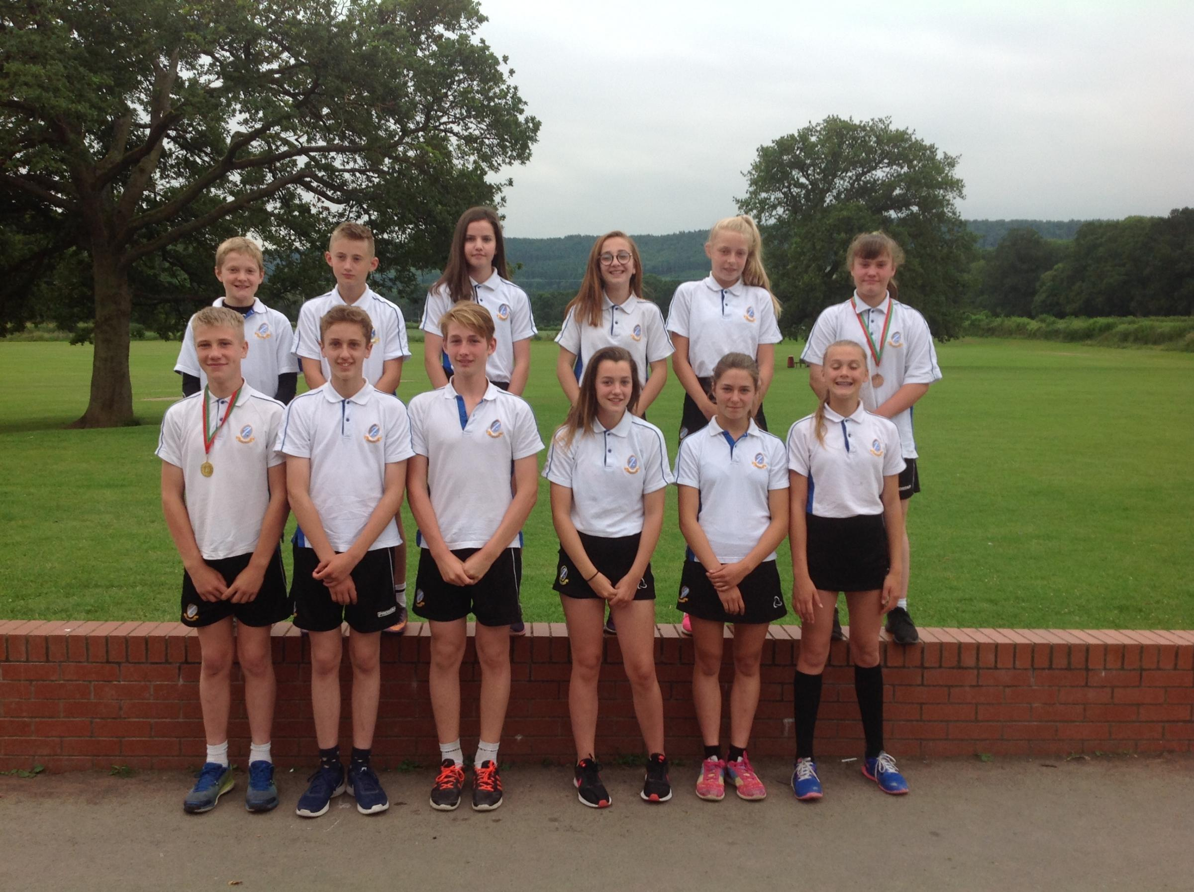 Weobley High School have had another good year in athletics