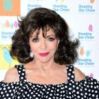 Hereford Times: Actress Joan Collins comments on BBC pay gap dispute