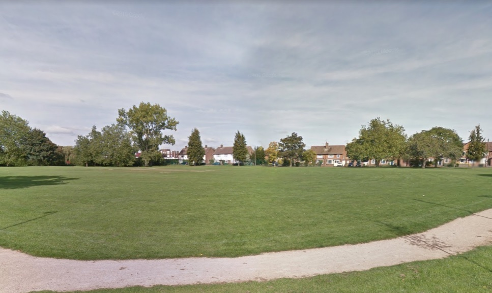 King George Playing Fields. Image credit: Google Street View