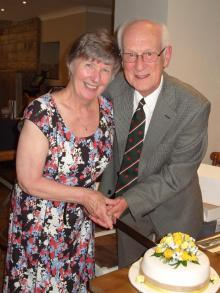 Yvonne and Gwyn Williams