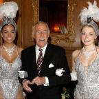 Hereford Times: Bruce Forsyth joined by Miss Puerto Rico (left) and Miss England to celebrate his 80th birthday at the Dorchester Hotel (Anthony Devlin/PA Wire/PA Images)