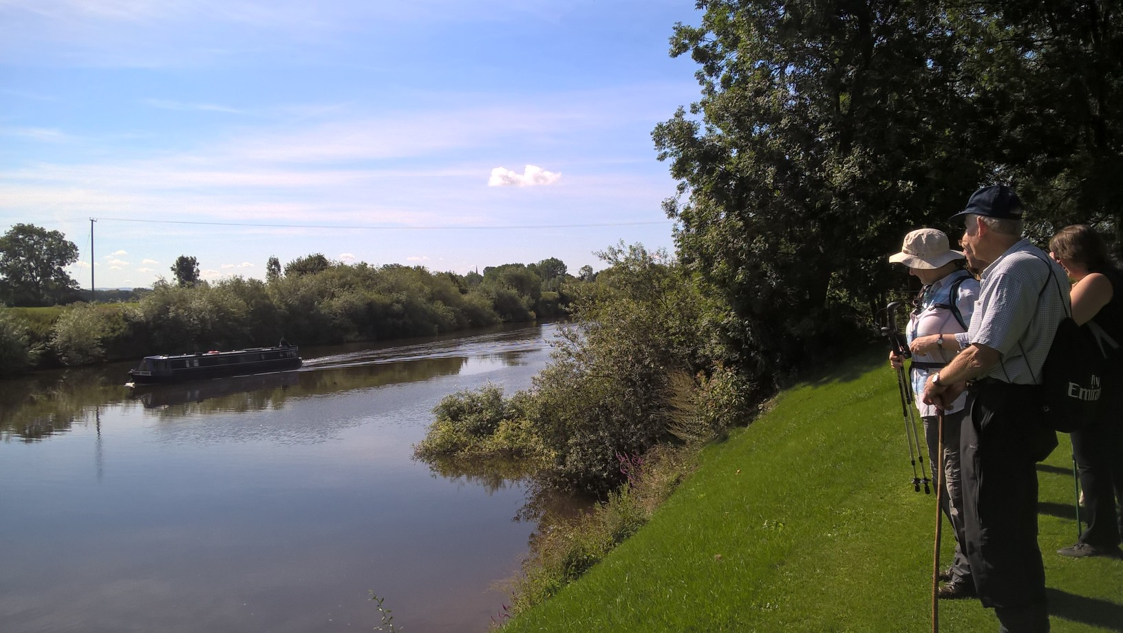River Isbourne & Ferry across the Avon with Evesham Ramblers