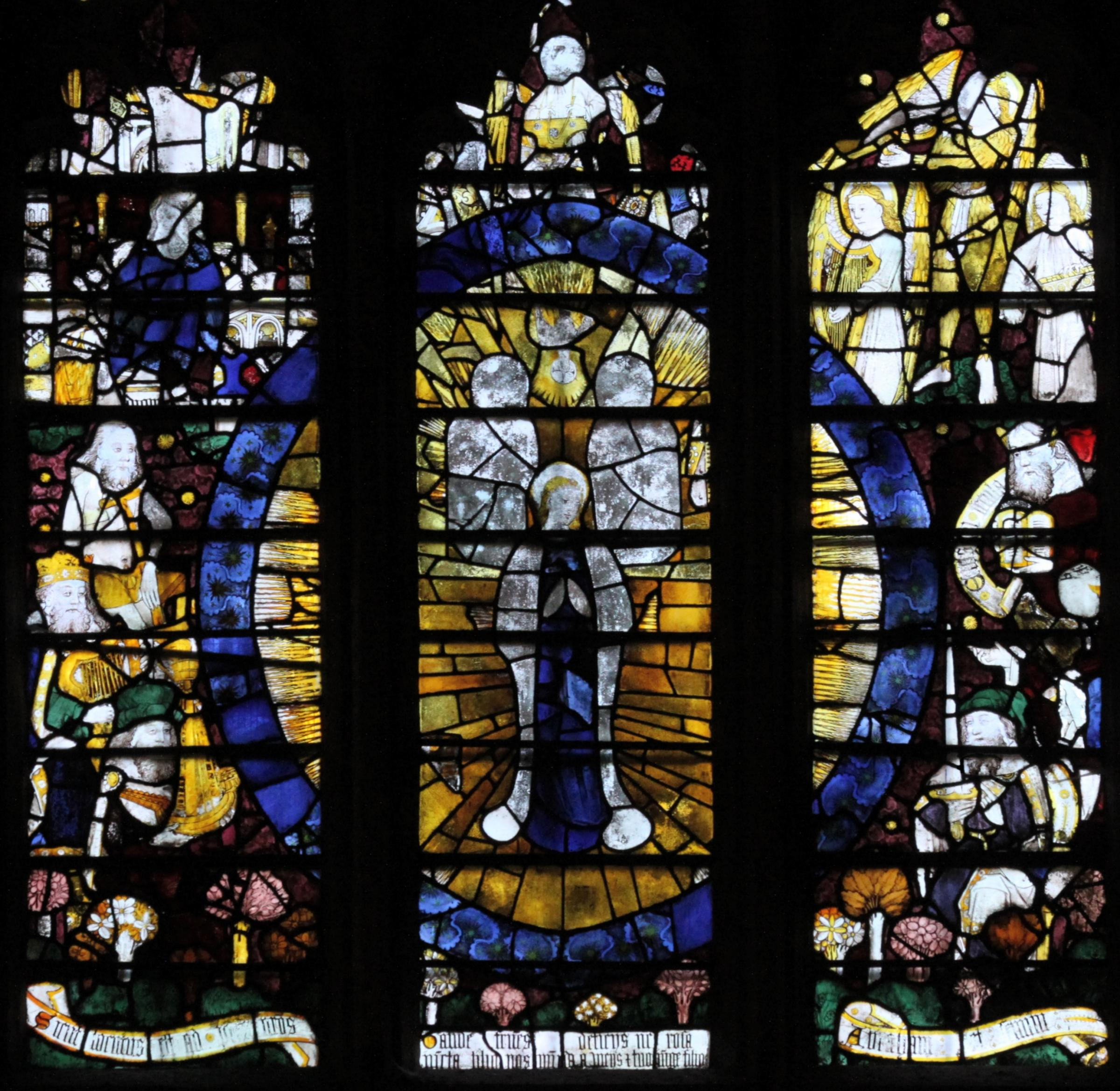 The Magnificat Window will be the focus of the lecture