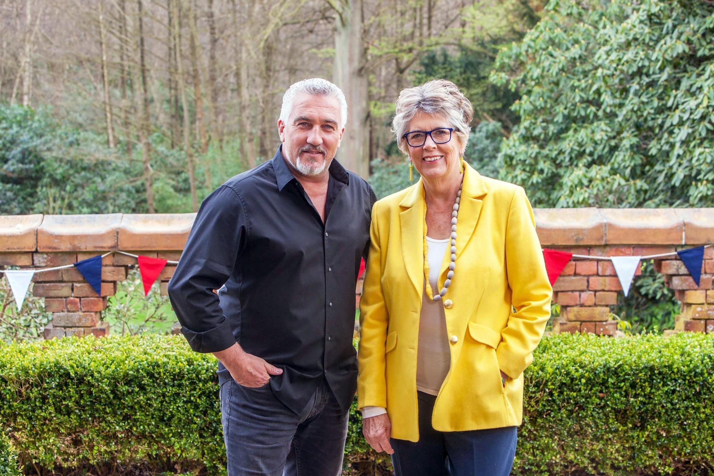 Undated Handout Photo from The Great British Bake Off. Pictured: Paul Hollywood and Prue Leith. See PA Feature TV Bake Off. Picture credit should read: PA/ Love Productions / Channel 4 / Mark Bourdillon. WARNING: This picture must only be used to accompan