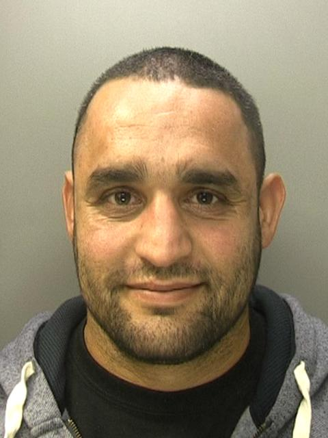 JAILED: Kamran Raja. Photo: West Midlands Police