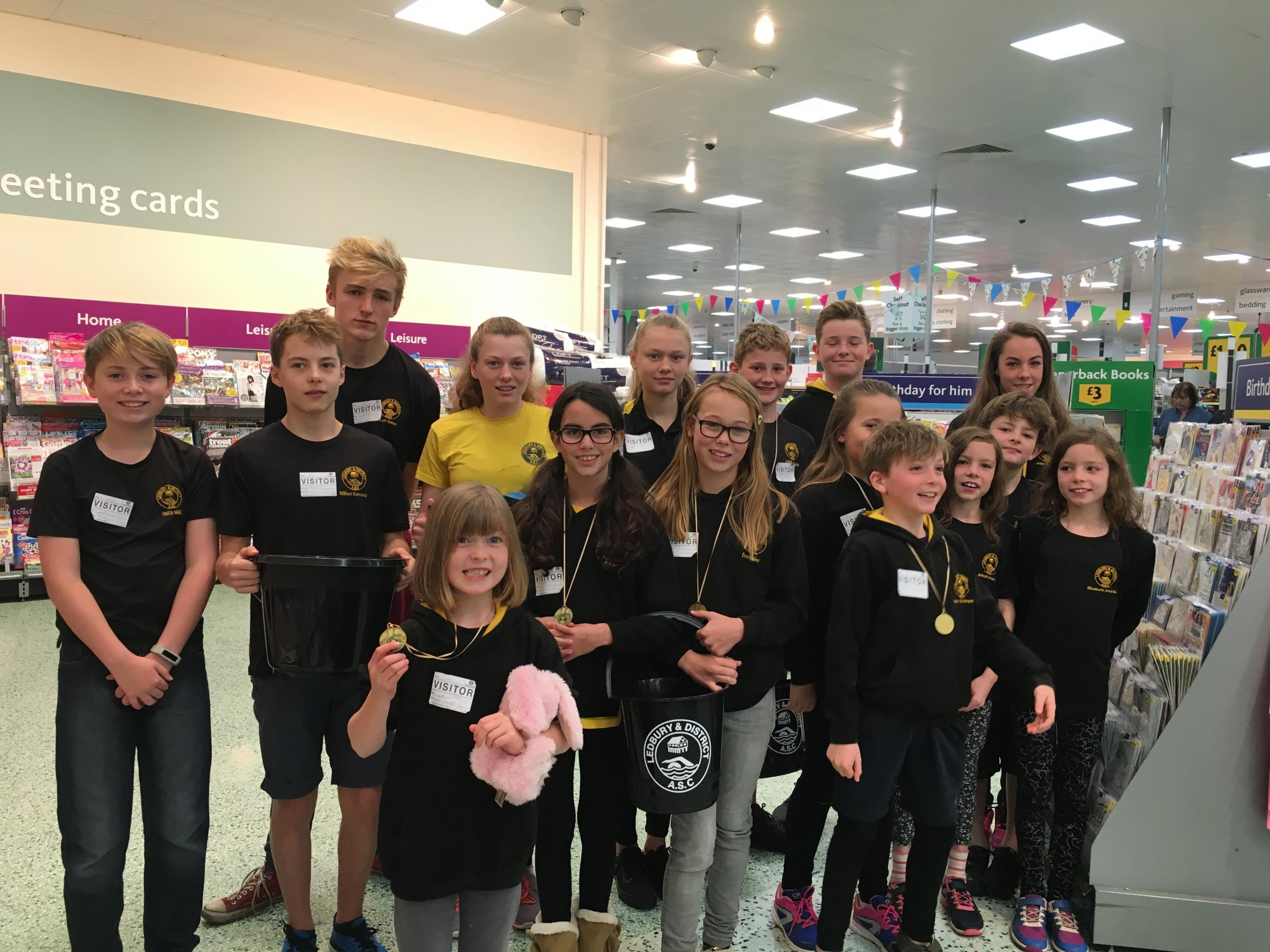 Youngsters from Ledbury Swimming Club (LADASC) have been left frantically searching for flights after Monarch Airlines collapsed into adminstration on Monday
