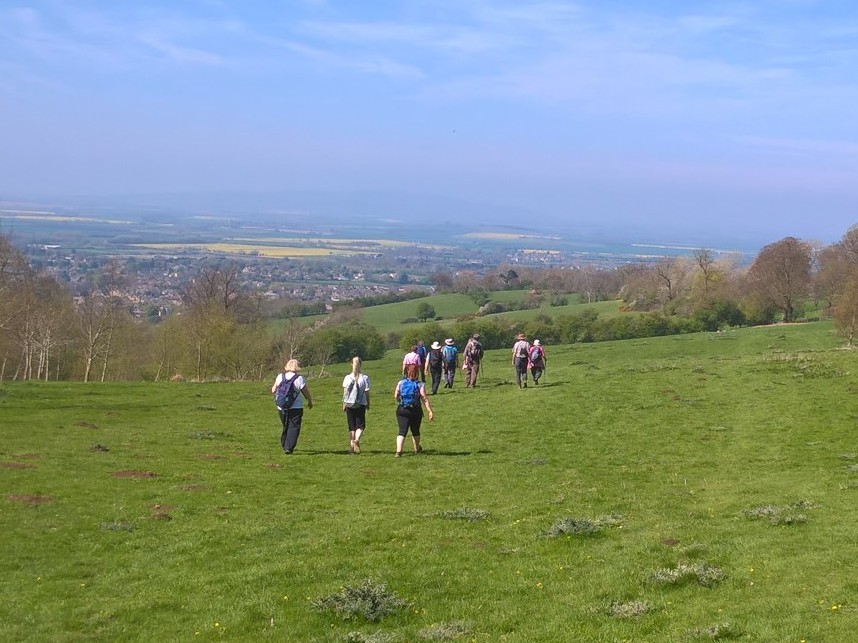 Morning walk from Beckford with Evesham Ramblers