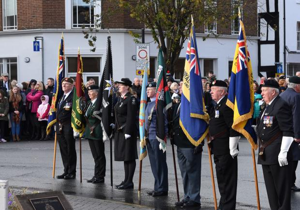 Remembrance Sunday Hereford