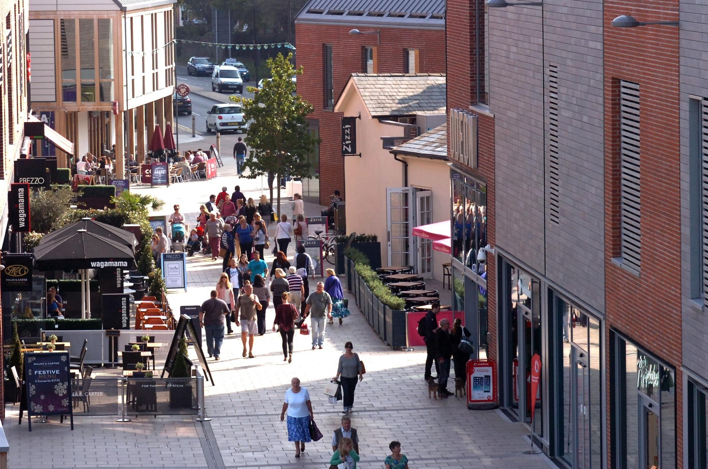 Hereford's Old Market development will provide free car parking during the Christmas late night shopping