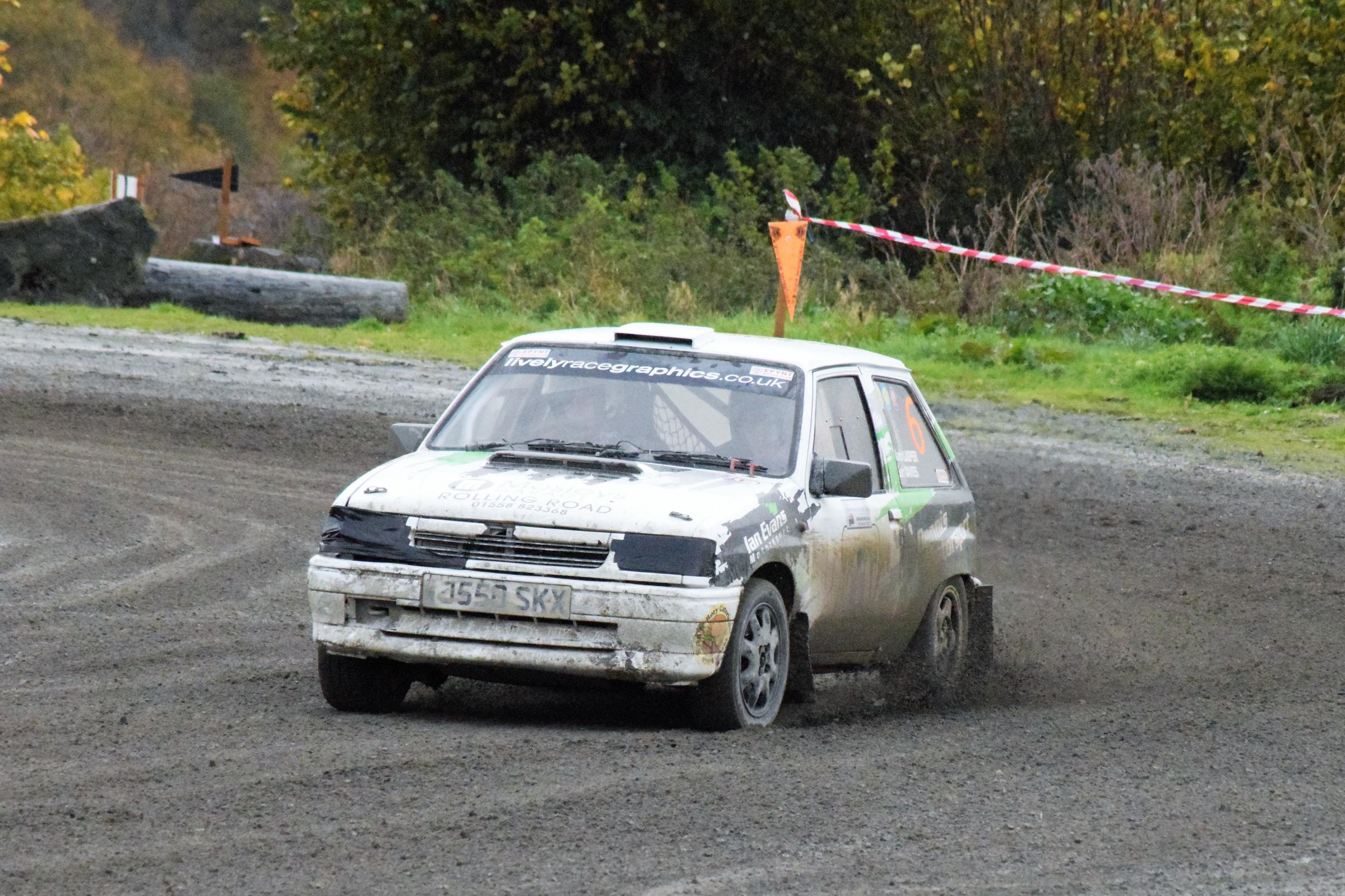 Builth Showground Stages Rally winners  Sam Davies and Martin Lasper. Photos: Wilkys Photos