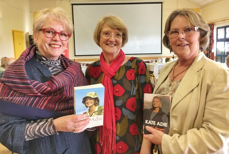 Elaine Williams, Gillian Lewis and Awen Campbell at the event