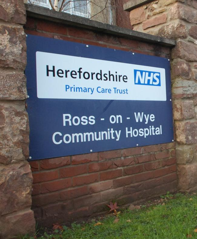 The Minor Injury Unit at Ross-on-Wye Community Hospital will remain closed this month