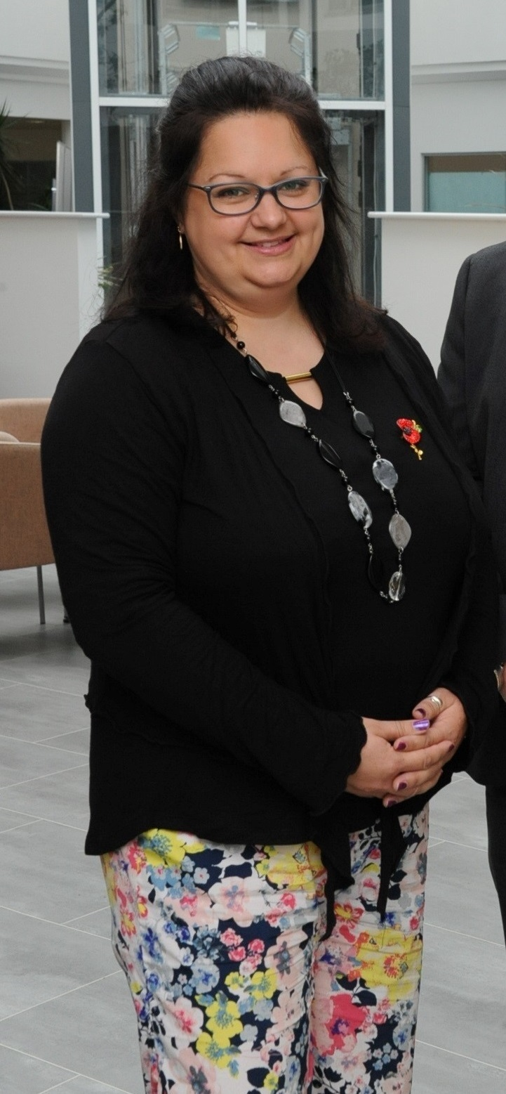 Cllr Hannah Lerego has stepped down as chairman of the Ross town council events committee