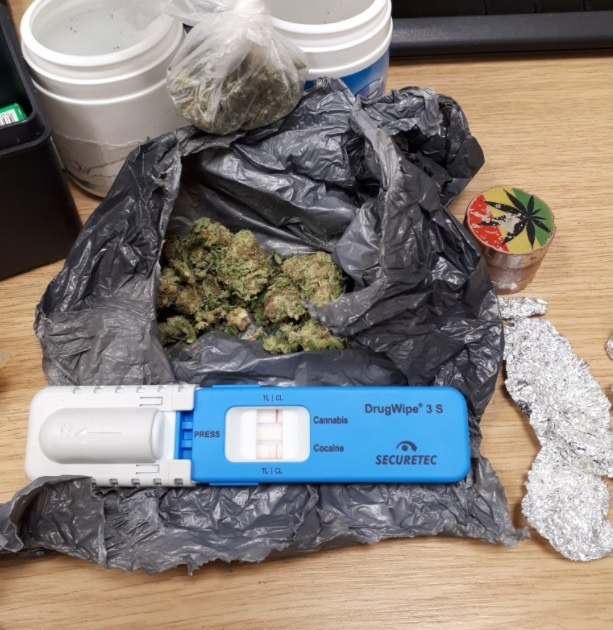 The cannabis that was discovered by police. Picture: OPU Herefordshire