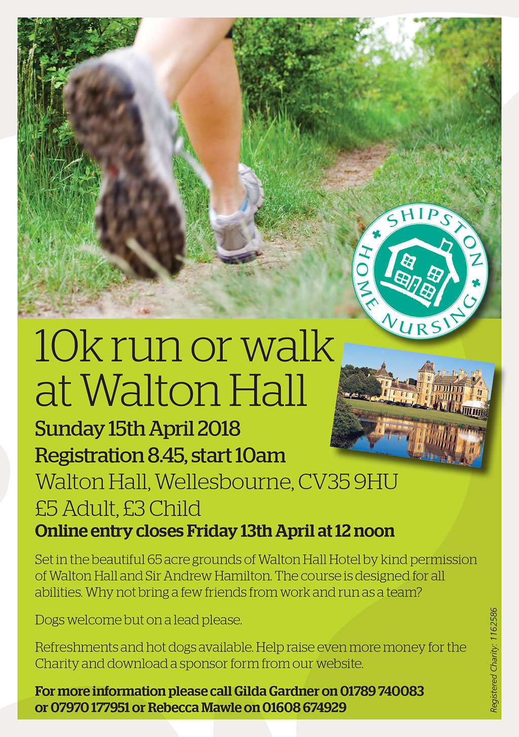 10k Run/Walk at Walton Hall