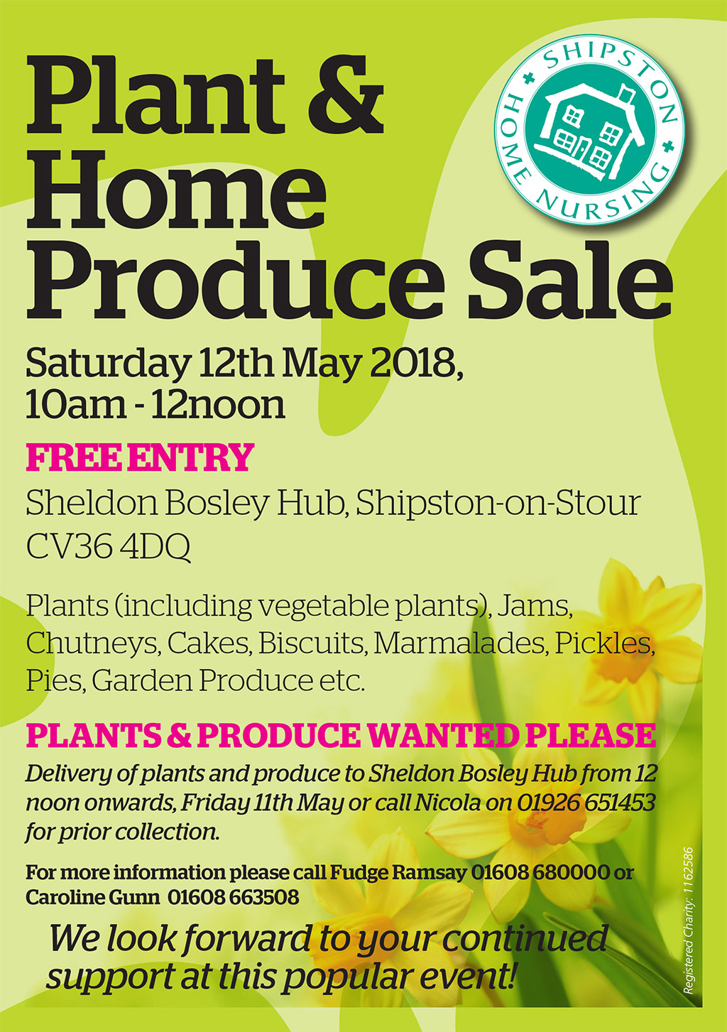 Plant and Home Produce Sale