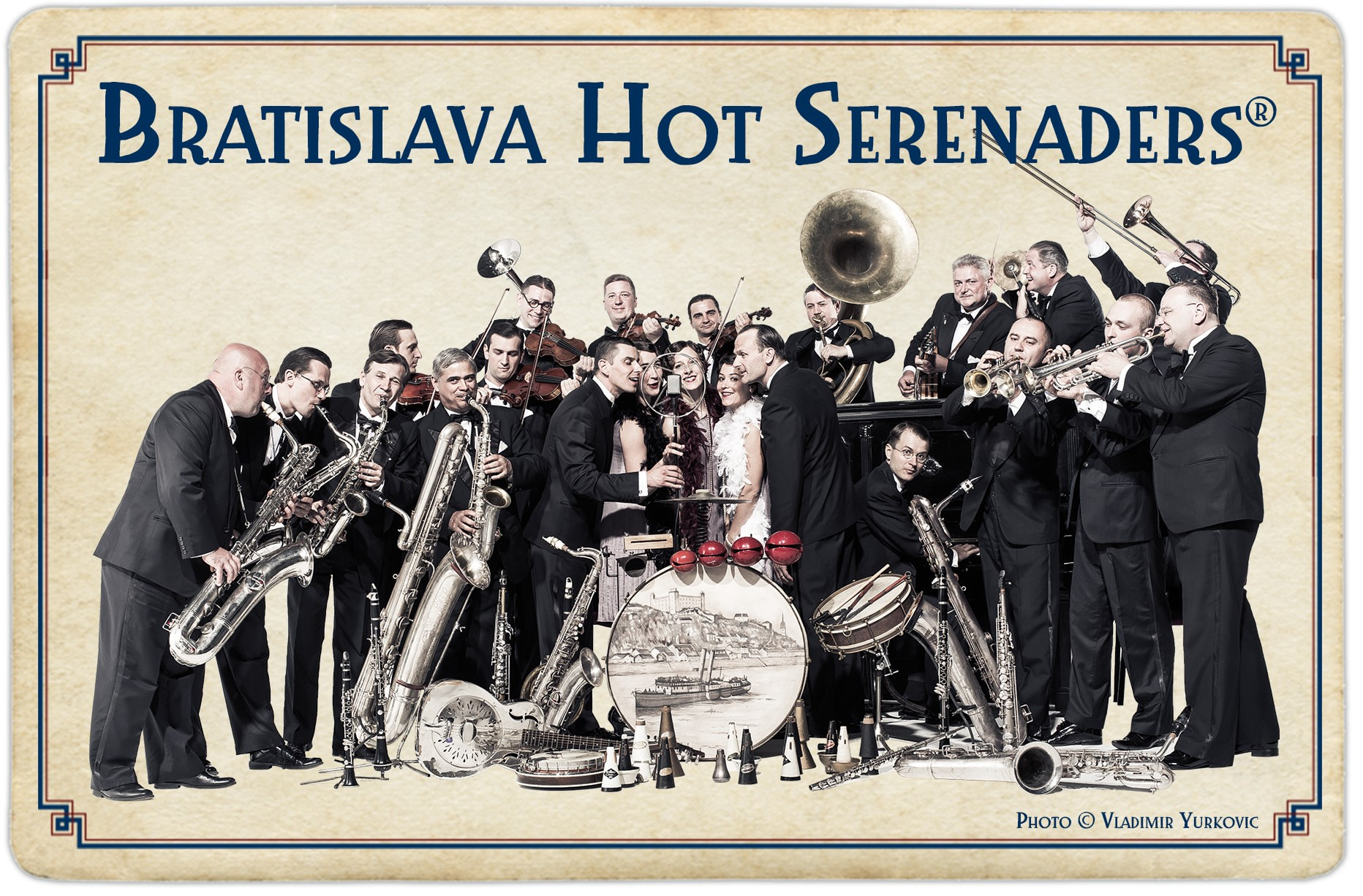 Bratislava Hot Serenaders - with the Serenaders Sisters