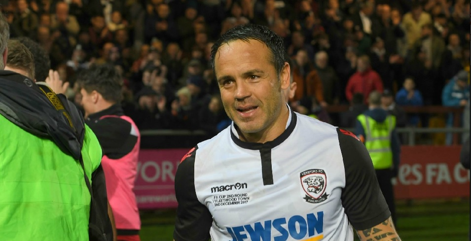 Ryan Green has signed a new deal with Hereford FC