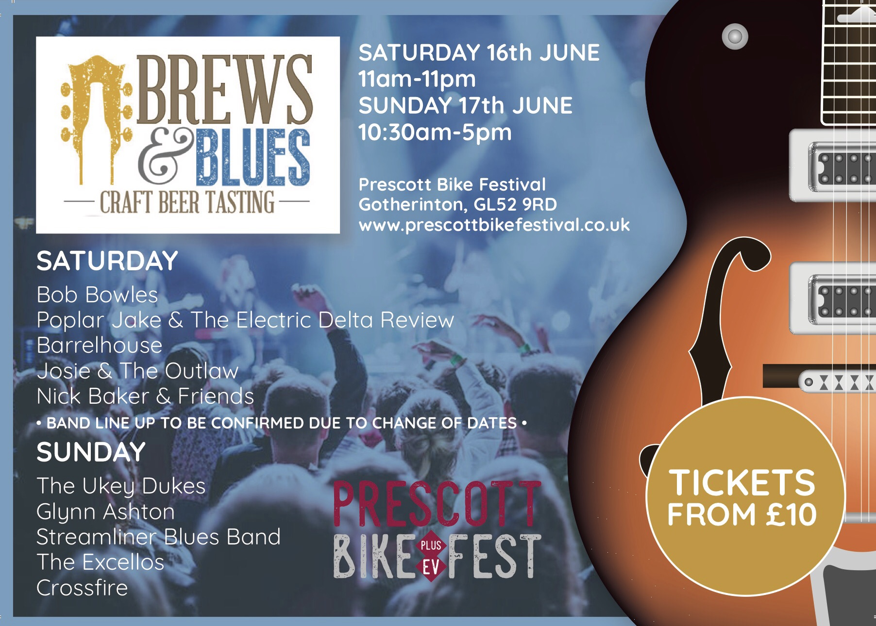 Prescott Bike Fest - Blues & Brews