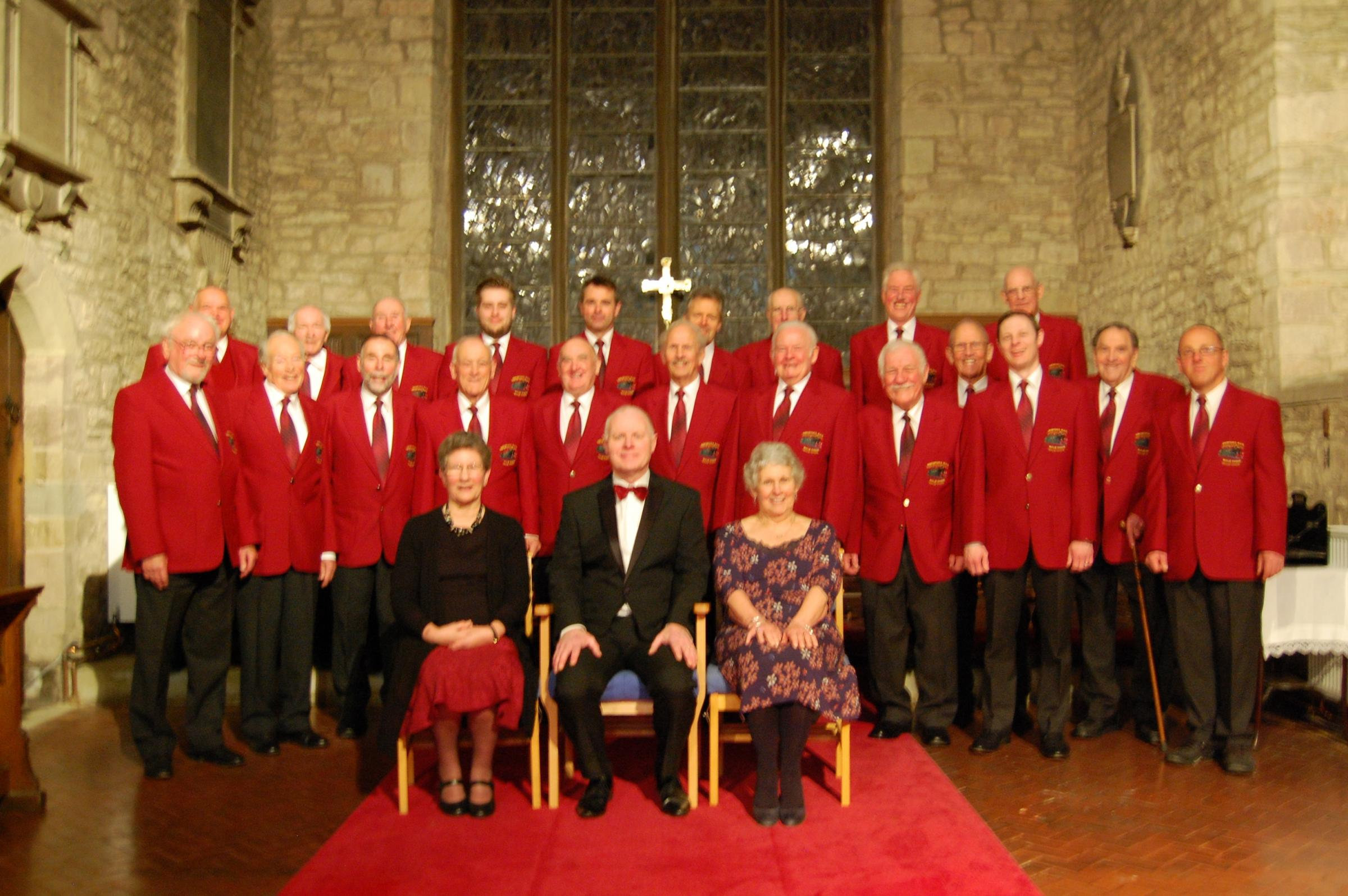 The Hereford Rail Male Voice Choir will give their Annual Concert on Saturday, May 19