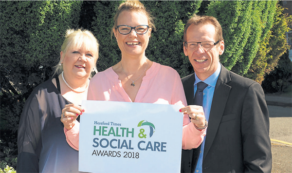 Hereford Times: The launch of the Hereford Times' Health & Social Care Awards 2018