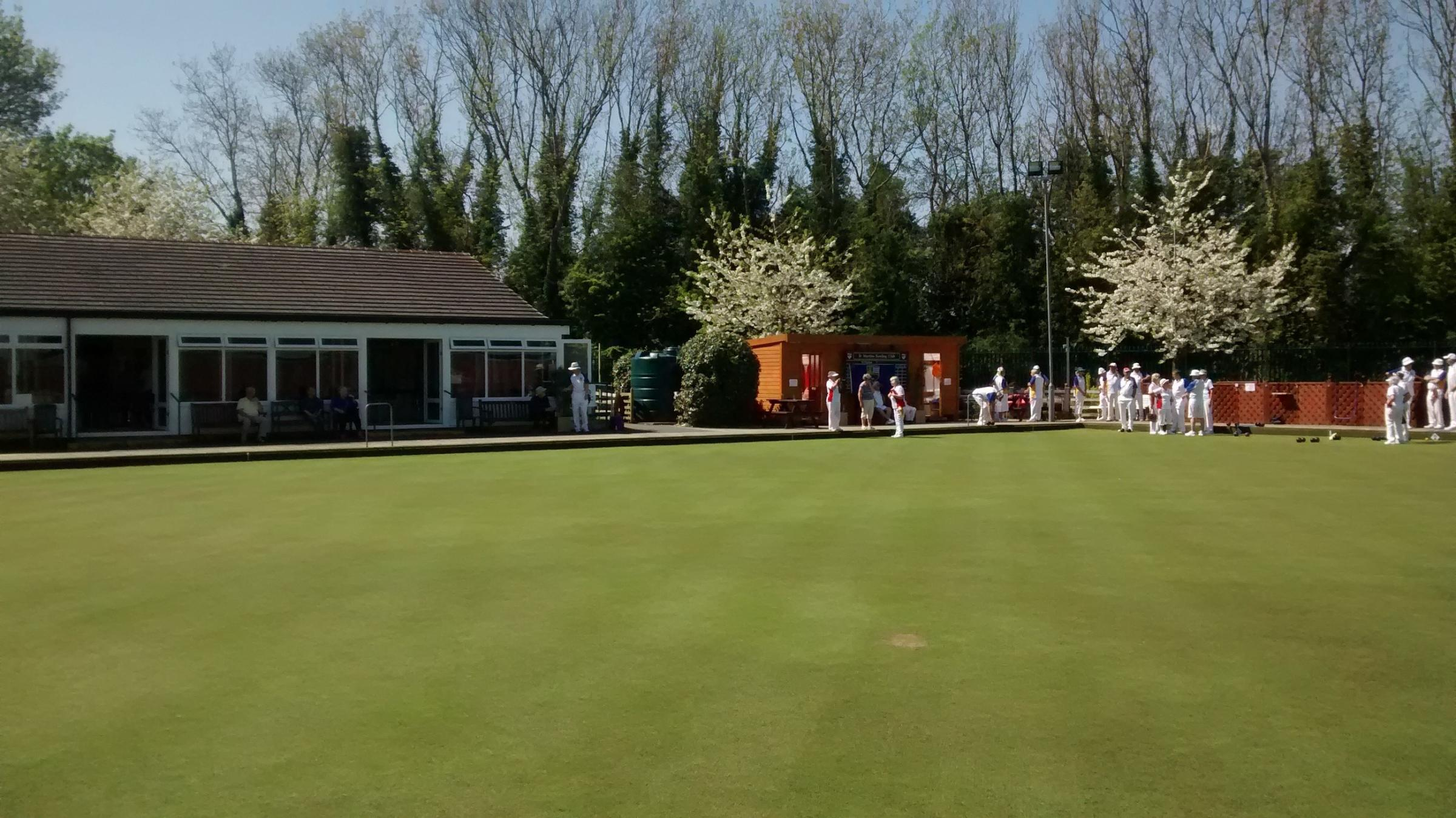 St Martins Bowls Club welcomes newcomers to the sport