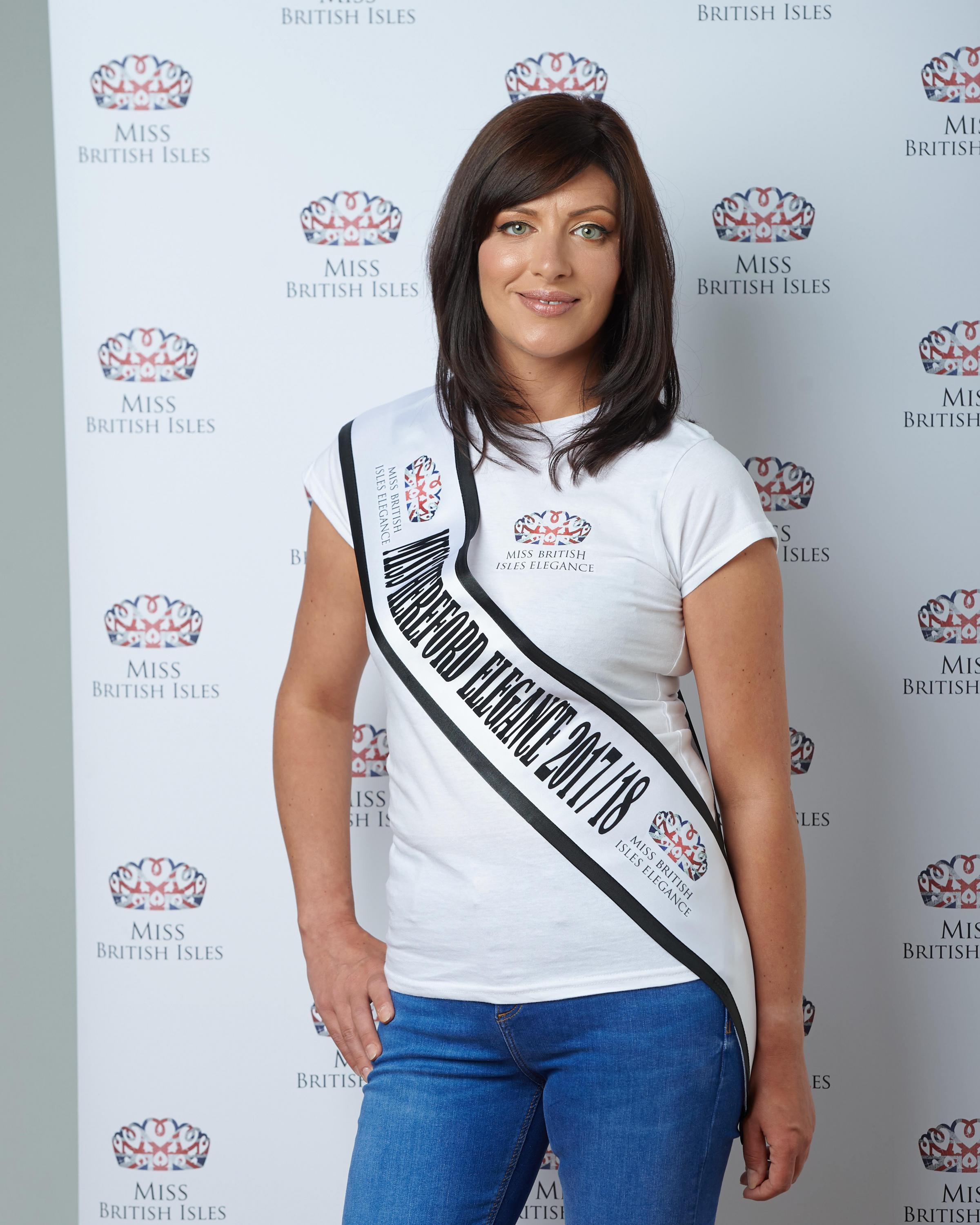 Hereford's Kate Paterson will compete in the national final of Miss British Isles Elegance 2018