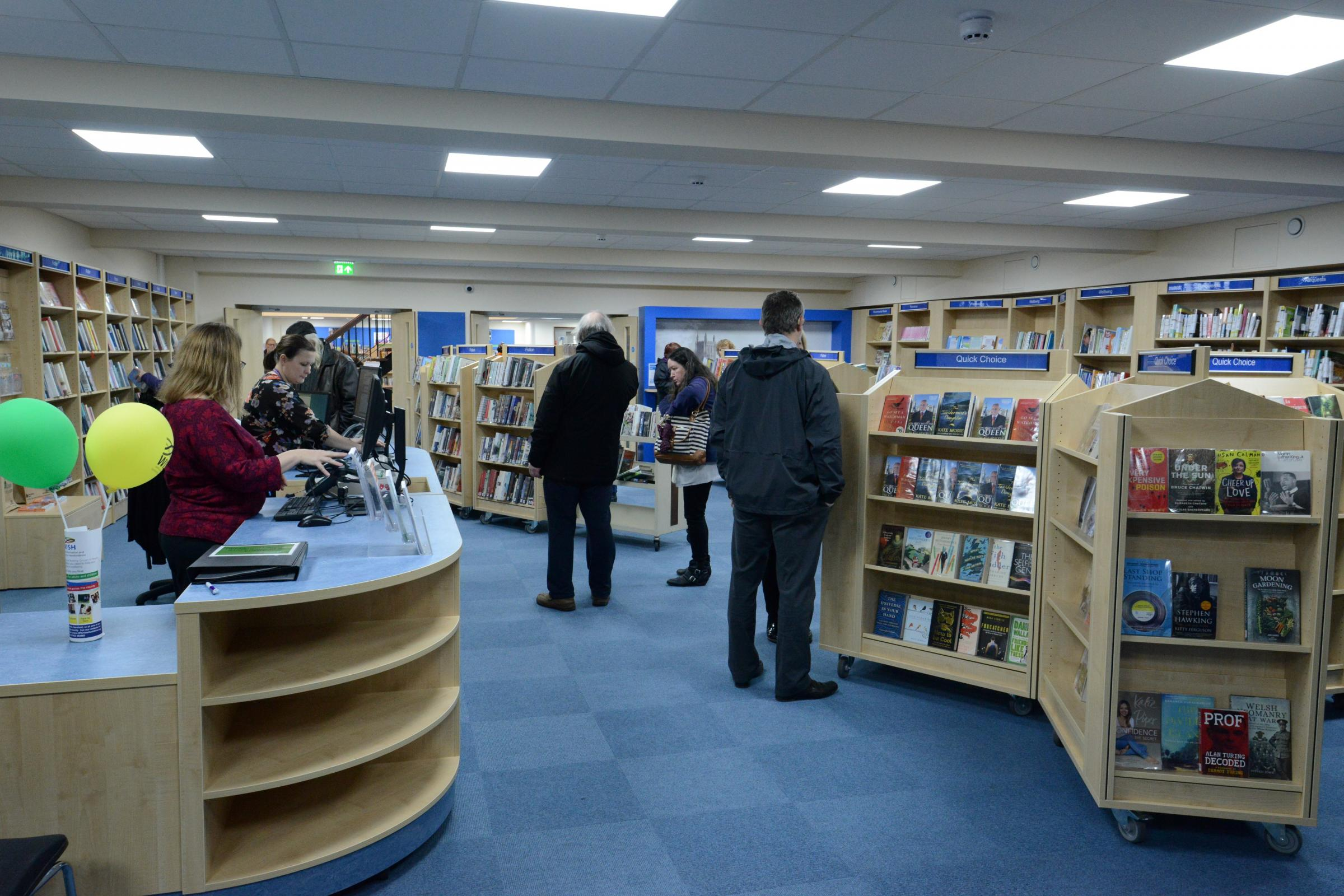 Hereford Library will host drop-in sessions