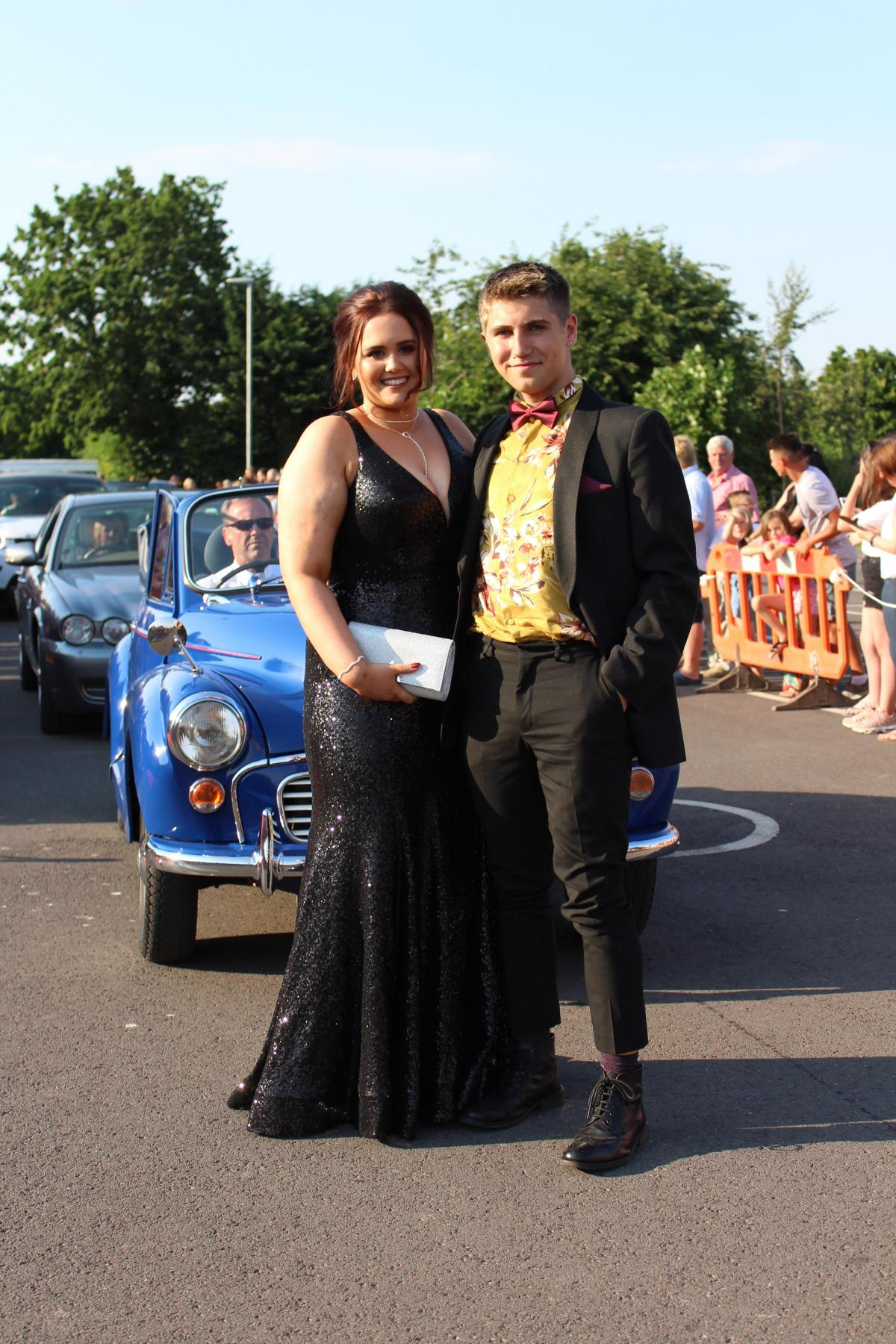 bishop s class of 2018 celebrate prom hereford times