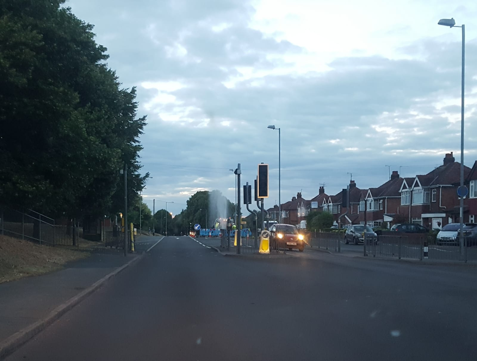 Ross Road traffic lights causing delays