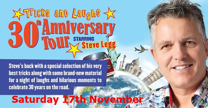 Steve Legg - 30th Anniversary Tour