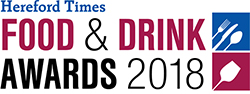 Hereford Times: Hereford Times Food & Drink Awards 2018 logo